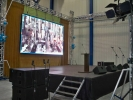 Glassworks and company event in Rybnik, X - XI.2009 :: Hannibal line array system
